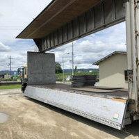 いすゞ ギガ低床アルミウイング 積載13.9t 7MT(グリーンツートン)のサムネイル
